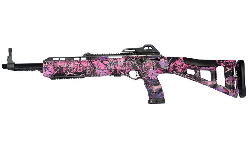 Hi-Point Firearms 40S&W carbine pink camo Model 4095 Camo PI