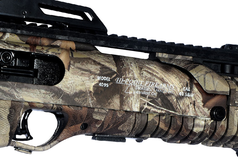 Hi-Point Firearms 40S&W carbine woodland camo Model 4095 Camo WC