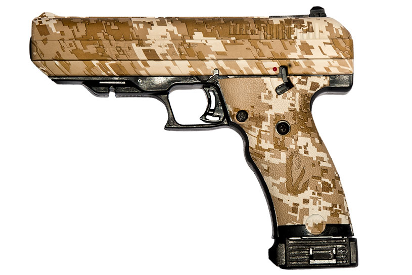 Hi-Point Firearms 45ACP handgun desert digital camo Model JHP 45 Camo DD
