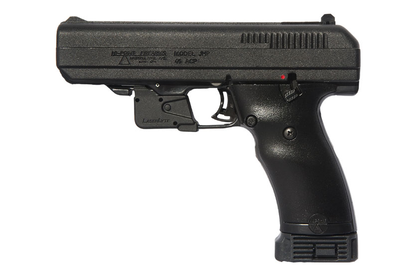 Hi-Point Firearms 45ACP handgun Model JHP 45 LLTGM